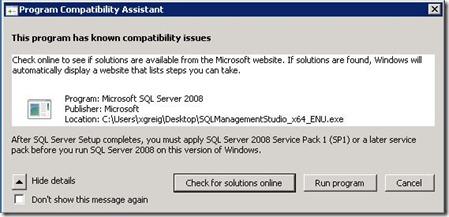 SQL-programcompatibility