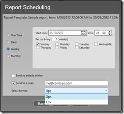 Espera-ReportScheduling