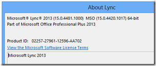 Lync2013-AfterMay2013update