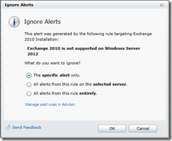 AdvisorWeb-Alerts-IgnoreAlerts