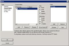 Filezilla-Folders