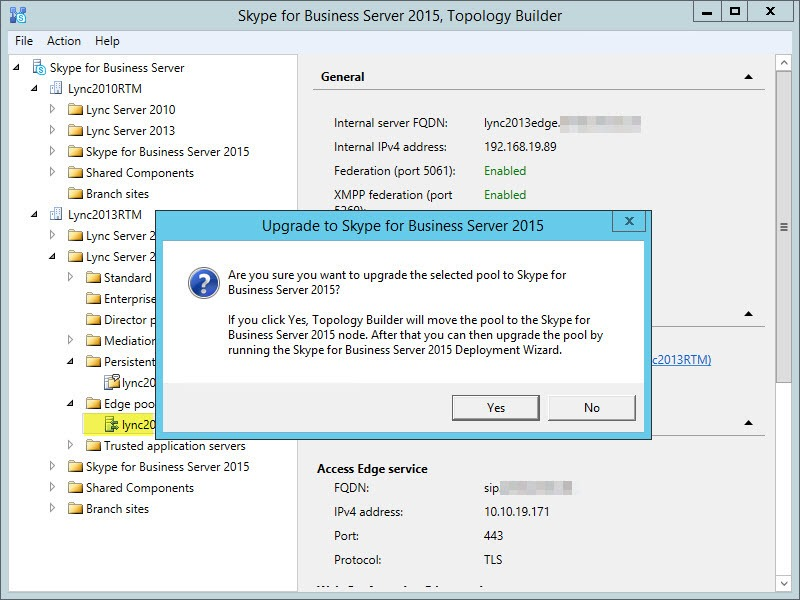 Flip your Lync 2013 Edge to SfB | greiginsydney com