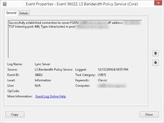 Event36022-SuccessfullyEstablishedConnection
