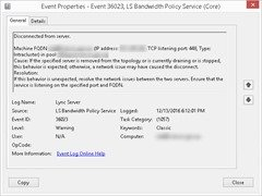 Event36023-DisconnectedFromServer