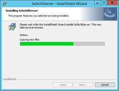 5SEFAUTILServer-Installing