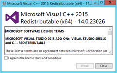 InstallVC  14.0.23026