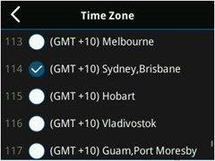 Sydney-BrisbaneTimezone