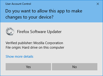 UACPrompt-FirefoxUpdater