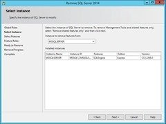 RemoveSQLServer-SelectInstance