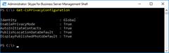 Get-CsPrivacyConfiguration