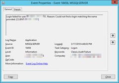 SQLEvent18456