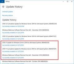 OOS-UpdateHistory